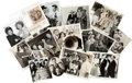 Movie/TV Memorabilia:Photos, A Marx Brothers Group of Rare Black and White Press Photographs,1930s-1960s....