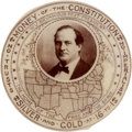 Political:Pinback Buttons (1896-present), William Jennings Bryan: Money of the Constitution Button....