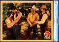 """Movie Posters:Western, The Range Feud (Columbia, 1931). CGC Graded Lobby Card (11"""" X 14"""").. ..."""
