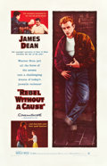 "Movie Posters:Drama, Rebel without a Cause (Warner Brothers, 1955). One Sheet (27"" X 41"").. ..."