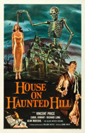 "Movie Posters:Horror, House on Haunted Hill (Allied Artists, 1959). One Sheet (27"" X42"").. ..."