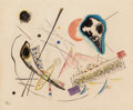 Impressionism & Modernism:Abstraction, Wassily Kandinsky (1866-1944). Untitled (Compositionlyrique), 1922. Watercolor and India ink on paper. 12-3/8 x14-3/4 ...