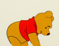 Animation Art:Production Cel, Winnie the Pooh in a Day for Eeyeore Production Cel (WaltDisney, 1983)....