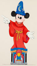 Animation Art:Production Drawing, Mickey Mouse as the Sorcerer's Apprentice Illustration (WaltDisney, c. 1990s)....