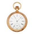 Timepieces:Pocket (post 1900), Waltham Choice & Heavy 14k Gold 16 Size 15 Jewel Model 84Pocket Watch. ...