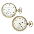 Timepieces:Pocket (post 1900), Two Elgin 18 Size Pocket Watches. ... (Total: 2 Items)