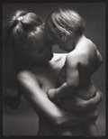 Photographs:20th Century, Max Waldman (American, 1920-1981). Untitled (Mother andChild), circa 1970. Gelatin silver. 17-3/4 x 13-3/4 inches(45.1...