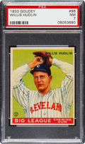 Baseball Cards:Singles (1930-1939), 1933 Goudey Willis Hudlin #96 PSA NM 7 - None Higher!...