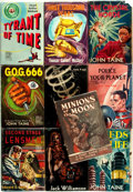 Books:Science Fiction & Fantasy, [Science Fiction]. Group of Ten Titles. Various publishers and dates.... (Total: 10 Items)