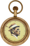 Movie/TV Memorabilia:Instruments , A Frank Sinatra-Related Pocket Watch, Circa 1960s....