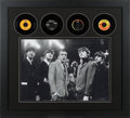 "Music Memorabilia:Photos, Beatles with Ed Sullivan - Large Limited Edition (#AP31/50) ""TheReally Big Show"" Giclee Print in Framed Display with Four Ori..."