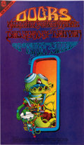 Music Memorabilia:Posters, Doors Pay Attention FD-18 New Years Concert Poster (Denver Dog,1967)....