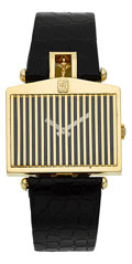 "Timepieces:Wristwatch, Corum ""Spirit Of Ecstasy, Rolls Royce"" Gold Wristwatch. ..."