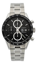 Timepieces:Wristwatch, Tag Heuer Carrera Automatic Chronograph. ...