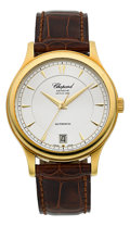 Timepieces:Wristwatch, Chopard Limited Edition Gold Automatic Chronometer L.U.C. 1860. ...