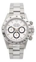 Timepieces:Wristwatch, Rolex Ref. 16520 Choice Stainless Steel Oyster PerpetualCosmograph, circa 1997. ...