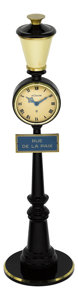 "Timepieces:Clocks, LeCoultre Eight Day ""Rue de la Paix"" Clock. ..."