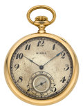 Timepieces:Pocket (post 1900), Ed. Koehn 18k Gold Pocket Watch For Birks. ...