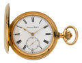 Timepieces:Pocket (post 1900), International Watch Co. Massive Rose Gold Hunters Case, circa 1905....