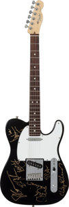 Music Memorabilia:Autographs and Signed Items, Black Crowes Signed Fender Telecaster Electric Guitar....