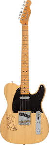 Music Memorabilia:Autographs and Signed Items, Ian Moore Signed Fender Telecaster Electric Guitar....