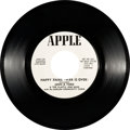"Music Memorabilia:Recordings, Beatles - John Lennon ""Happy Xmas (War Is Over)"" Promo 45 (AppleS-45X-47663, 1971)...."