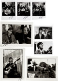 Music Memorabilia:Photos, Beatles - Eight Günter Zint Signed Photographs of the Beatles(1964-1966)....