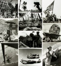 Books:Prints & Leaves, [World War II: Pacific Theater]. Archive of Approximately 190Photographs and Press Prints Relating to the Pacific Theater of ...