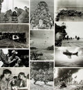 Books:Prints & Leaves, [World War II: Pacific Theater]. Archive of Approximately 150Photographs and Press Prints Relating to the Pacific Theater of ...