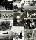 Books:Prints & Leaves, [World War II: Pacific Theater]. Archive of Approximately 160Photographs and Press Prints Relating to the Pacific Theater of ...