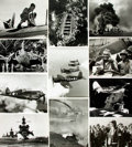Books:Prints & Leaves, [World War II: Pacific Theater]. Archive of Approximately 180Photographs and Press Prints Relating to the Pacific Theater of ...