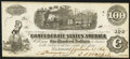 Confederate Notes:1862 Issues, T40 $100 1862 PF-1 Cr.298.. ...