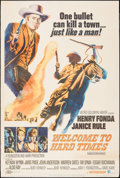 """Movie Posters:Western, Welcome to Hard Times & Others Lot (MGM, 1967). Posters (5) (40"""" X 60""""). Western.. ... (Total: 5 Items)"""