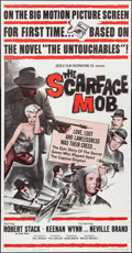 "Movie Posters:Crime, The Scarface Mob (Desilu, 1962). Three Sheet (41"" X 79""). Crime....."