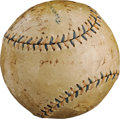 "Baseball Collectibles:Balls, 1917 Tim Murnane Benefit Game Signed Baseball with ""Shoeless Joe""Jackson, Babe Ruth, Ty Cobb...."