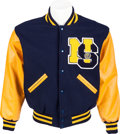 "Movie/TV Memorabilia:Costumes, A Lindsay Lohan Letterman Jacket from ""Mean Girls.""..."