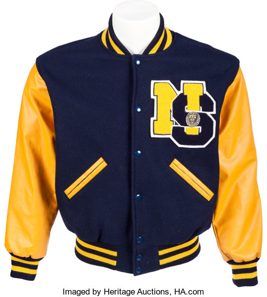 A Lindsay Lohan Letterman Jacket from