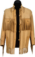 Movie/TV Memorabilia:Memorabilia, A Buck Jones Bohlin Fringe Jacket....