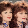 "Music Memorabilia:Autographs and Signed Items, The Judds Signed Why Not Me LP (RCA AHL 1-5319, 1984)/KathyMattea Signed ""Maybe She's Human"" Sheet Music (BMG, 19... (Total: 2Items)"