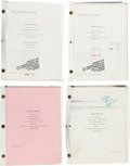 "Movie/TV Memorabilia:Documents, A Karen Black Group of Scripts from ""Invaders from Mars.""..."
