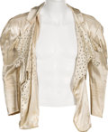 Music Memorabilia:Costumes, Alice Cooper - Neal Smith Stage-Worn Rhinestone Jacket...