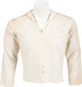 """Music Memorabilia:Costumes, Alice Cooper - Neal Smith Owned """"Muscle of Love"""" Sailor Shirt(1973)...."""