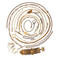 Timepieces:Watch Chains & Fobs, Ten Chains Some With Fobs & Mesh Fob. ... (Total: 25 Items)