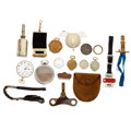Timepieces:Other , A Lot Of Eighteen Miscellaneous Watch Items. ... (Total: 18 Items)