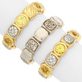 Estate Jewelry:Rings, Diamond, Yellow Sapphire, Gold, White Gold Rings, David Yurman. ...