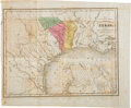 Miscellaneous:Maps, [Map]. Map of the Colonization Grants to Zavala, Vehlein, andBurnet in Texas, Belonging to the Galveston Bay and Texas ...