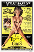 """Movie Posters:Adult, The Ecstasy Girls (Leisure Time Booking, 1980). One Sheet (27"""" X 41""""). Adult.. ..."""