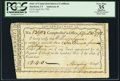 Colonial Notes:Connecticut, State of Connecticut Interest Certificate April 30, 1792 PCGSApparent Very Fine 35, CC.. ...