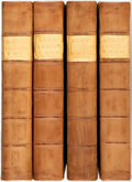 Books:World History, Richard Burn. Justice of the Peace, and Parish Office. London: T. Cadell, 1780.... (Total: 4 Items)