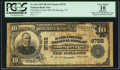 National Bank Notes:Virginia, Hot Springs, VA - $10 1902 Plain Back Fr. 626 The Bath County NBCh. # 8722. ...